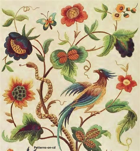 handmade embroidery patterns embroidery designs jacobean hand embroidery designs for floss thread