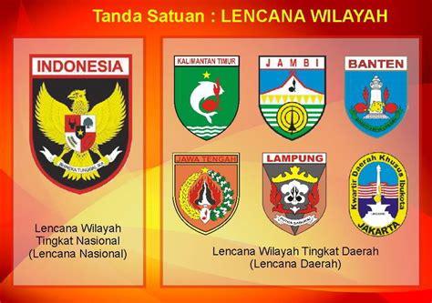 Badge Lengan Kwartir Wilayah tanda satuan dalam gerakan pramuka