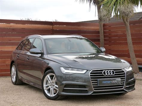 Used Audi A6 For Sale by Used Daytona Grey Audi A6 Avant For Sale Dorset