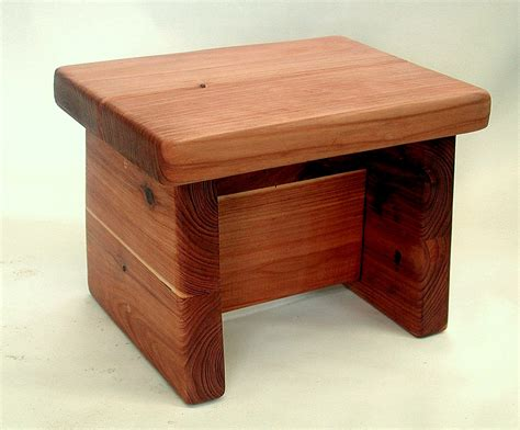 build small wood stool images