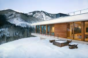 Colorado House Plans by Linear Mountain House Of Wood Glass And Chalet Charm
