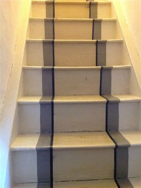 chalk paint stairs 20 best images about stairs chalk paint on