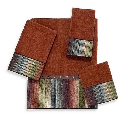 bed bath and beyond cheyenne buy avanti cheyenne hand towel in copper from bed bath