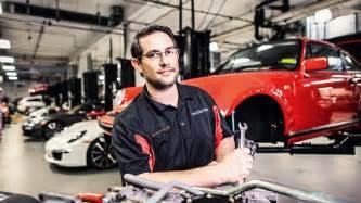 Porsche Technician Porsche Confucius At Service Porsche Usa