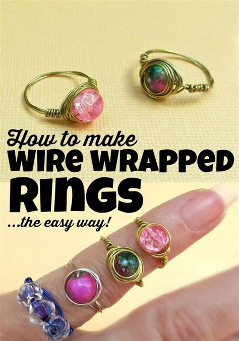make jewelry at home for money 25 best ideas about wire wrapped rings on