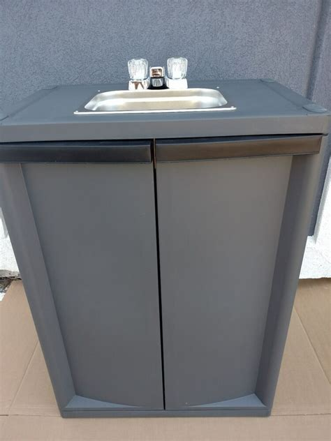 What Is A Self Sink by Portable Self Contained Sink With Water Ebay