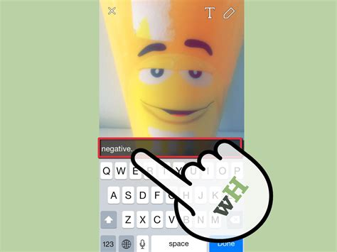 How To Find Pics Of You How To Get Effects On Snapchat With Pictures Wikihow