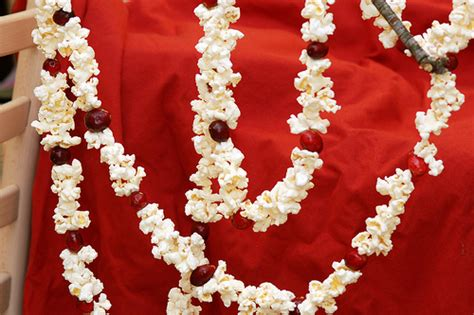 best 25 popcorn garland ideas on pinterest cranberry