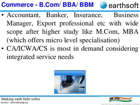 Scope Of Mba In Import And Export by 4 D Earthsoft Career Guidance After Hsc