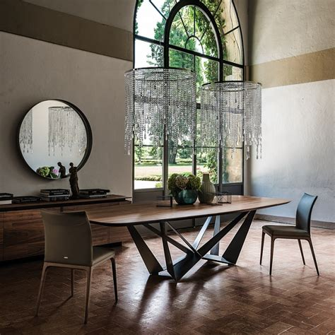 cattelan italia cattelan italia skorpio wood table