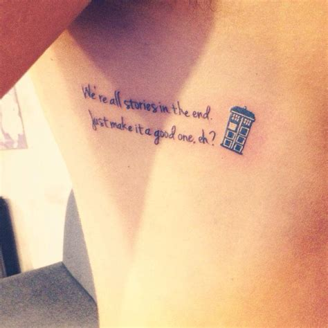doctor who tattoo by atacoast on deviantart