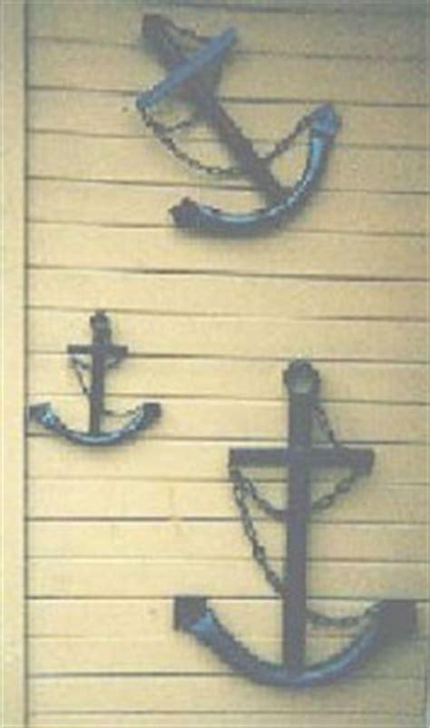 outdoor nautical wall decor handcrafted usa metal ship s anchor 1 maritime wall