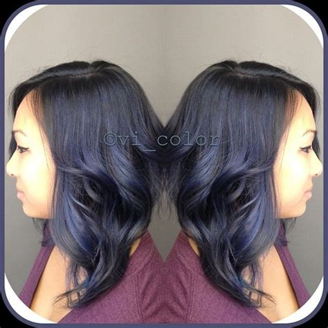 formula blue gray sombre hair color modern salon 10 best images about fantasy hair on pinterest