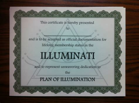 join illuminati join the illuminati see the official illuminati certificate