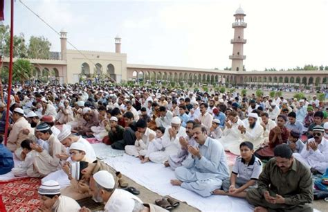 nation to celebrate eidul fitr with religious fervor today