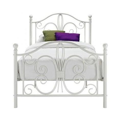 White Metal Bed Headboard by White Metal Bed Platform Frame Headboard Footboard