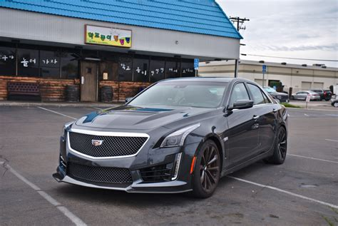 Cadillac Cts Sedan Review by 2018 Cts V Sedan Tested Road Test Reviews