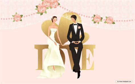 Animation Wedding by Animated Wedding Weddings Wallpaper 31771362 Fanpop