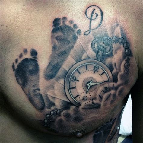 top 60 best footprint tattoos for men ink design ideas