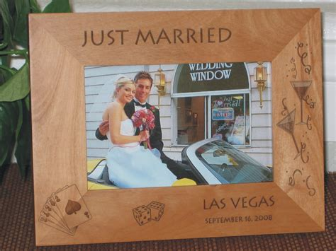 Poster Frame Las Vegas las vegas picture frame personalized frame laser engraved new years