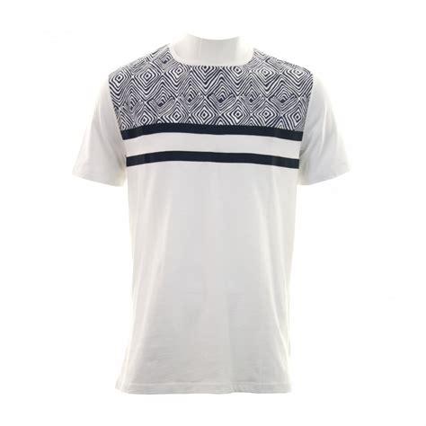 gold pattern shirt antony morato mens gold label pattern t shirt white