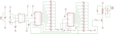 circuit design contest questions circuit design 555 timer with 4017 counter electrical