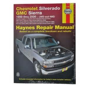 chevy truck repair manual ebay