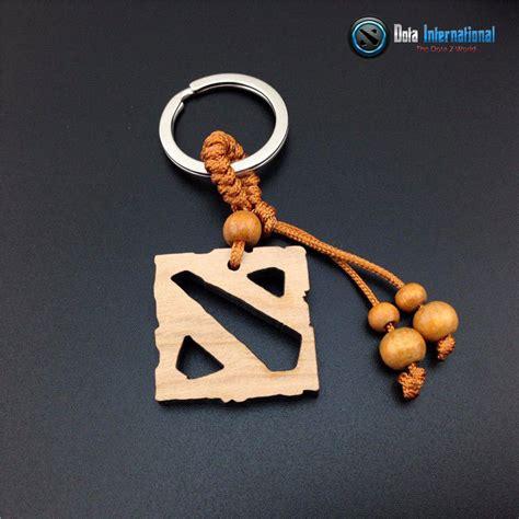 Keychain Dota 2 Talisman Of Evasion dota 2 logo wooden keychain dota international
