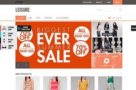 40 Best E Commerce Website Templates Web Graphic Design Bashooka Ecommerce Website Templates Free In Html5 Css3