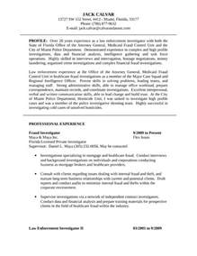 criminal investigator cover letter executive criminal investigator resume template