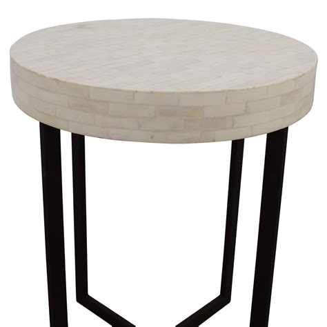 elm accent table 78 elm elm bone side table tables
