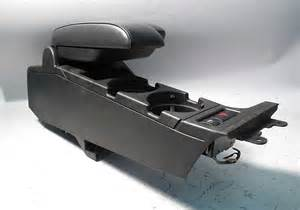bmw e46 3 series armrest center console cupholder black
