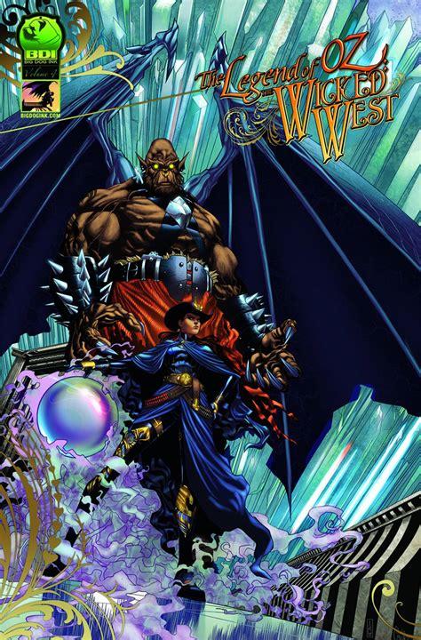 legend  oz  wicked west vol  fresh comics