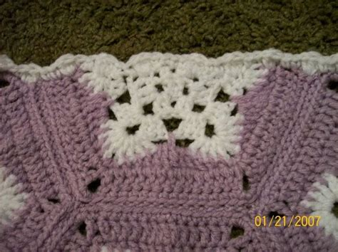 crochet pattern snowflake afghan half hex snowflake for afghan crochet pinterest