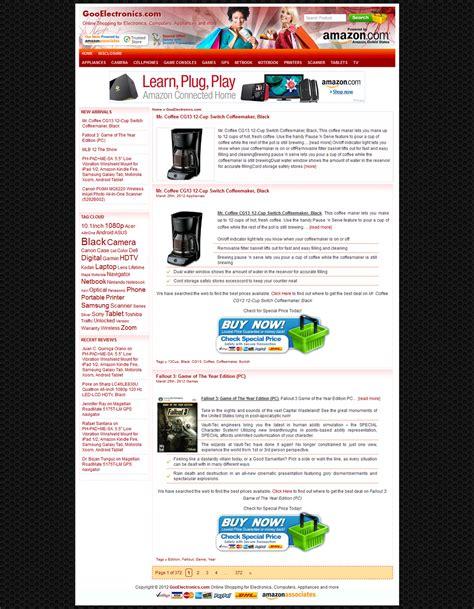 theme wordpress amazon free wpzoner amazon wordpress theme free theme premium