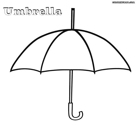 coloring pages with umbrellas coloring worksheet on umbrella clipart best