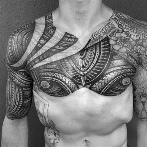 50 polynesian chest tattoo designs for men tribal ideas 50 polynesian chest tattoo designs for men tribal ideas