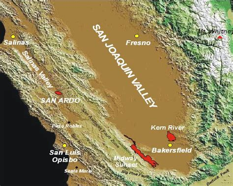 california map san joaquin valley map satellite images of the san joaquin valley