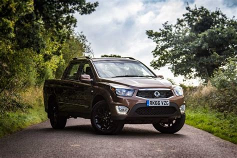 hyundai pick up still happening but not before 2020 2016 ssangyong musso review 2 2 litre inline 4 turbodiesel