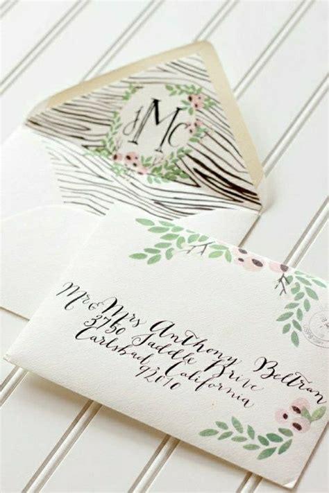 Hochzeitskarten Design by 51 Originelle Designs Hochzeitseinladungen Archzine Net