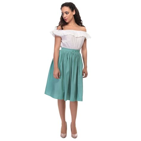 what is swinging skirts collectif vintage talis plain swing skirt collectif