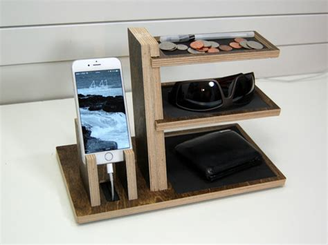 bedside table with charging station absurd stations easy charging station organizer single phone and valet by
