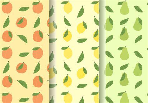 pattern vector cute free cute fruit patterns download free vector art stock