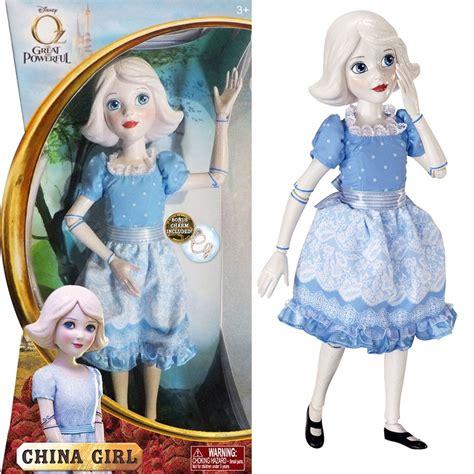 The Wizard King Book One オズ はじまりの戦い 人形 おもちゃ ディズニー公式 チャイナガール 陶器の少女 14インチ 39829 アカムス