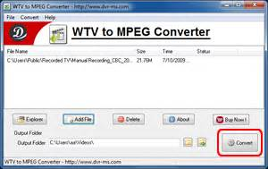 how to convert wtv to mp4 or any other video formats wtv to mpeg converter convert wtv to mpeg2
