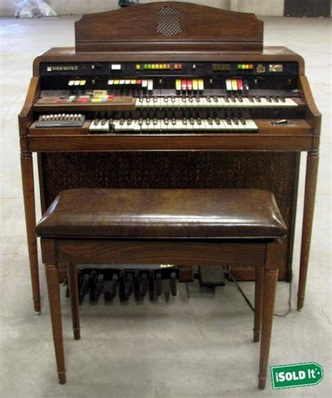 hammond organ bench vintage hammond ss1 sound simulator organ bench lots of