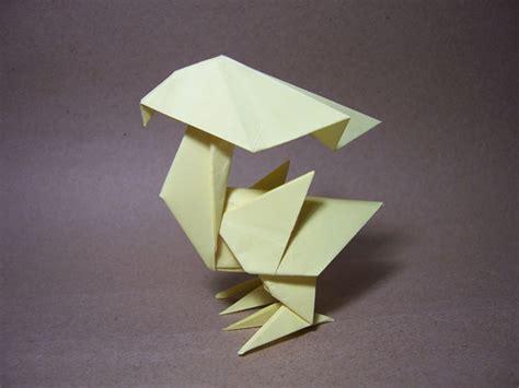 Chocobo Origami - origami chocobo by arturoeduardo on deviantart