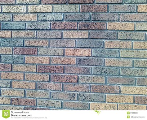 different color bricks at it s best stock photo image 51930833