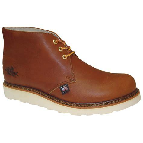 chukka work boots s thorogood 174 steel toe chukka boots tobacco 584486