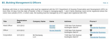 Nyc Property Tax Records See Past The Llc Part 2 Find The Real Owner Of An Nyc